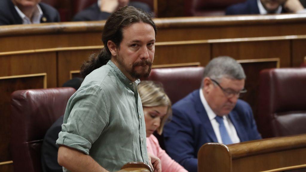 """Pablo Iglesias rechaza la DUI """"ilegítima"""" y acusa a los independentistas de favorecer la estrategia del PP"""