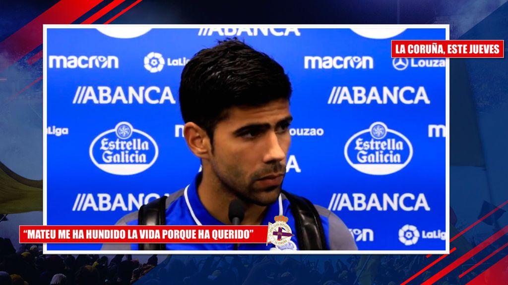 """La reacción de Iturralde tras la 'rajada' de Juanfran: """"Me da pena, si una expulsión en dieciseisavos de Copa le hunde la vida..."""""""