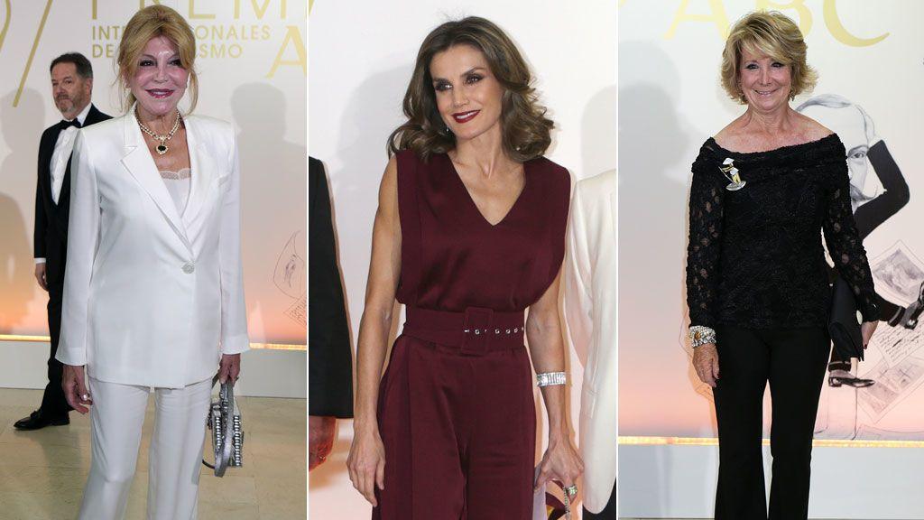 La reina Letizia, Esperanza Aguirre, la baronesa Thyssen... Así fueron los premios Mariano de Cavia