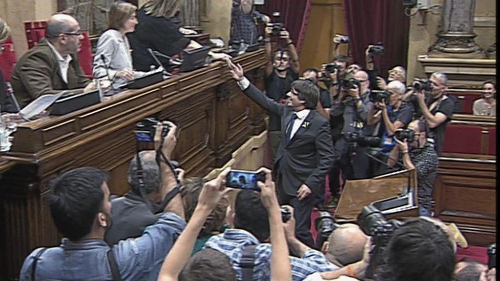 Puigdemont vota