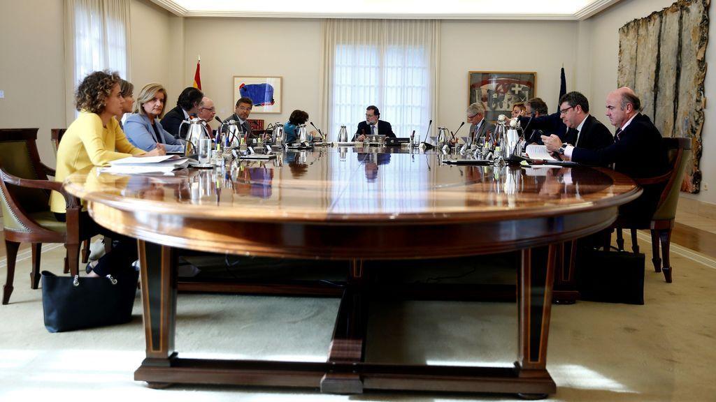 Rajoy preside el primer Consejo de Ministros tras la DUI de Cataluña