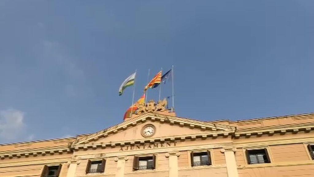 El ayuntamiento de Gerona retira la bandera de España