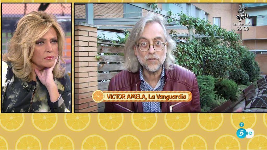 """Víctor Amela, crítico de televisión: """"Ahora que  Kiko Matamoros se ha ido, ¿para qué queremos ahí a Lydia Lozano?"""""""