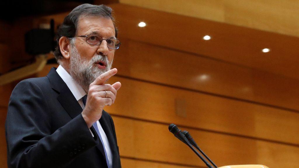 Rajoy pide autorización al Senado para aplicar el 155 y cesar a Puigdemont