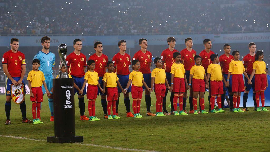 ¡No pudo ser! España Sub17 lo da todo pero cae en la final del Mundial contra Inglaterra
