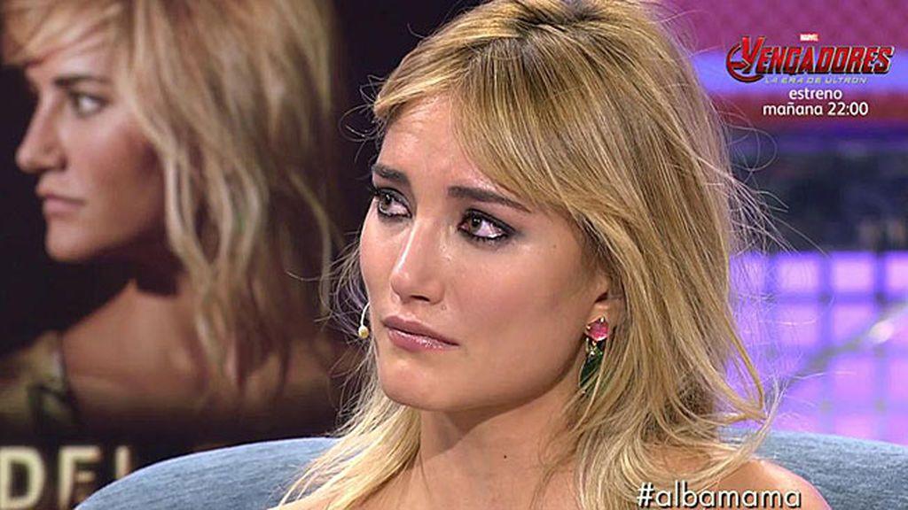 """Alba Carrillo explota durante la publicidad y llama """"gentuza"""" a los colaboradores"""