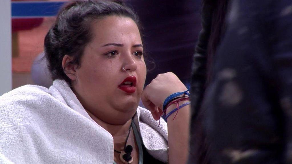 Pilar, muy afectada por la nominación de Juan y el desplazamiento de Dani