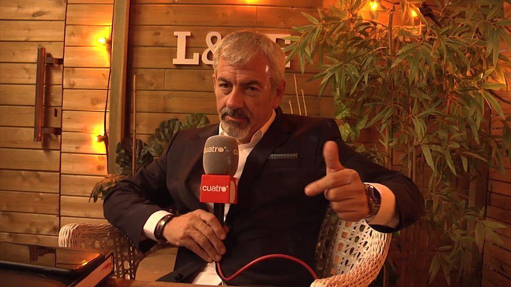 Entrevista a Carlos Sobera: ¿Qué es lo que NUNCA debe preguntarse en una cita a ciegas?