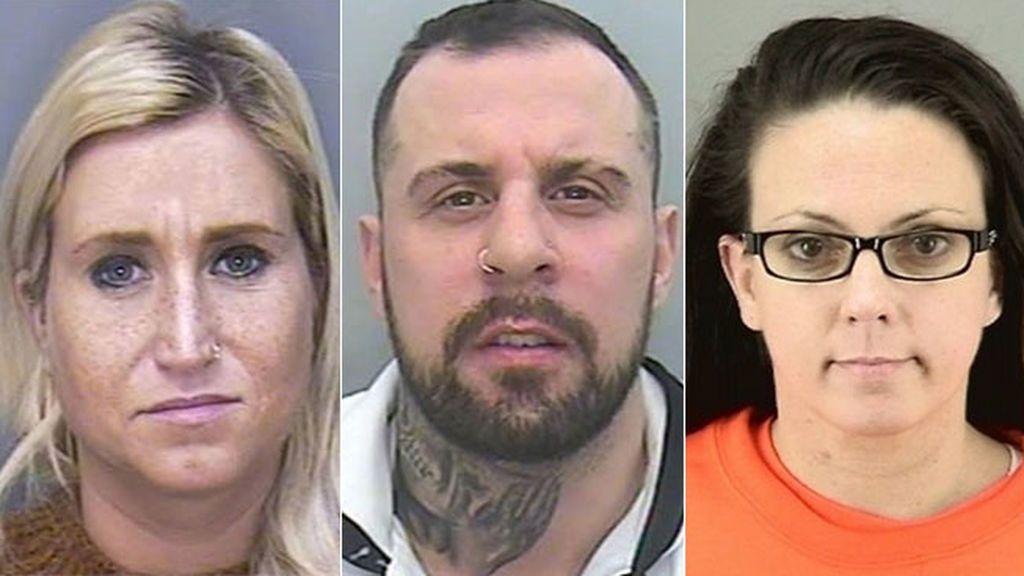 Sarah Gotham, Craig Forber y Kori Ellis