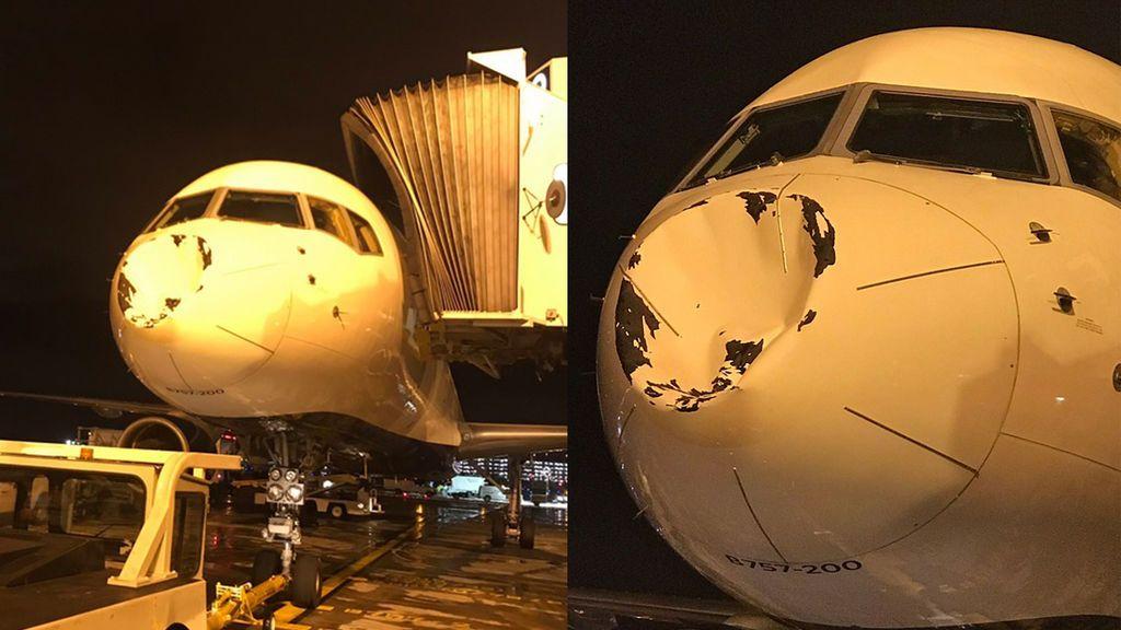 ¡Susto en la NBA! Algo impacta en el avión en pleno vuelo de los Oklahoma Thunder