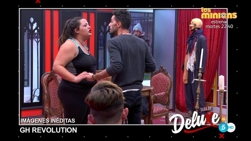 Imágenes inéditas 'GH Revolution': ¡Espectacular discusión entre Pilar y Cristian!