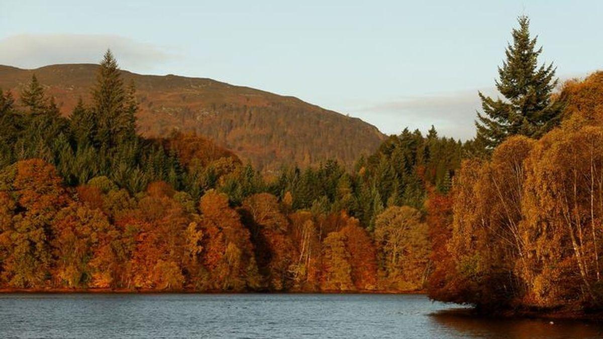 El otoño visto desde el espacio
