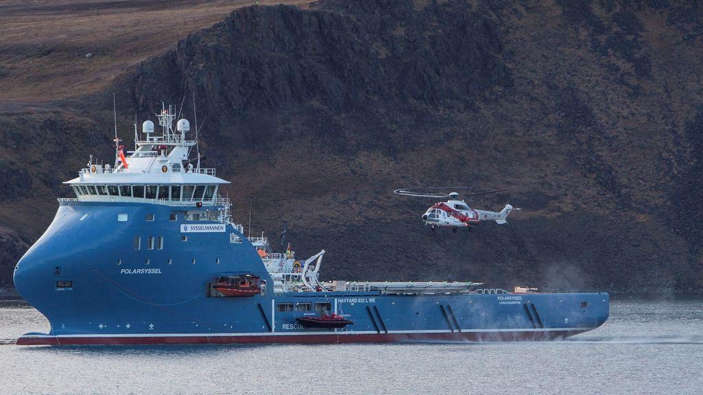 Ocho personas fallecen en un accidente de helicóptero en Noruega