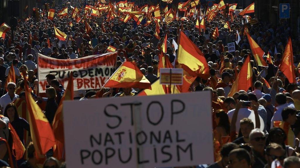 Societat Civil Catalana llama a movilizarse contra la independencia a las 12 en Barcelona