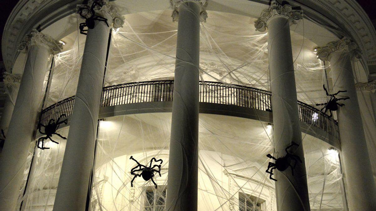 La imagen más terrorífica de la Casa Blanca... ¡por Halloween!