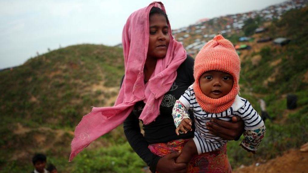 Los campos de refugiados Rohingya siguen llenándose