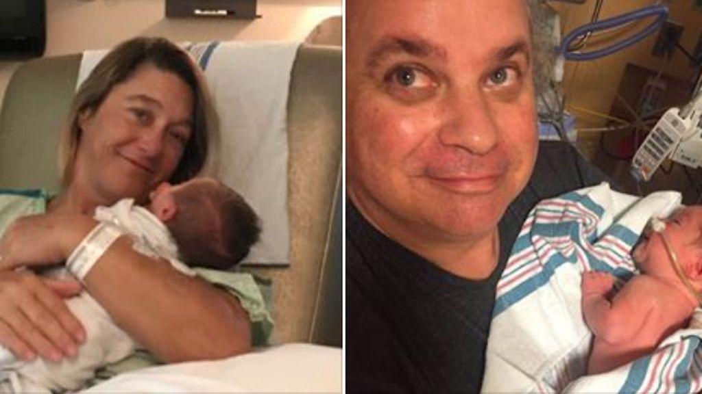 Una mujer de 45 años da a luz por sorpresa  tras acudir al hospital por un dolor de estómago