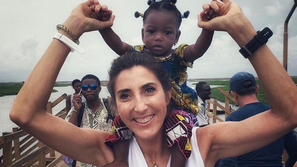 ¡Paz Padilla recibe una sorpresa! ¿Quién la esperaba en casa tras su aventura africana?