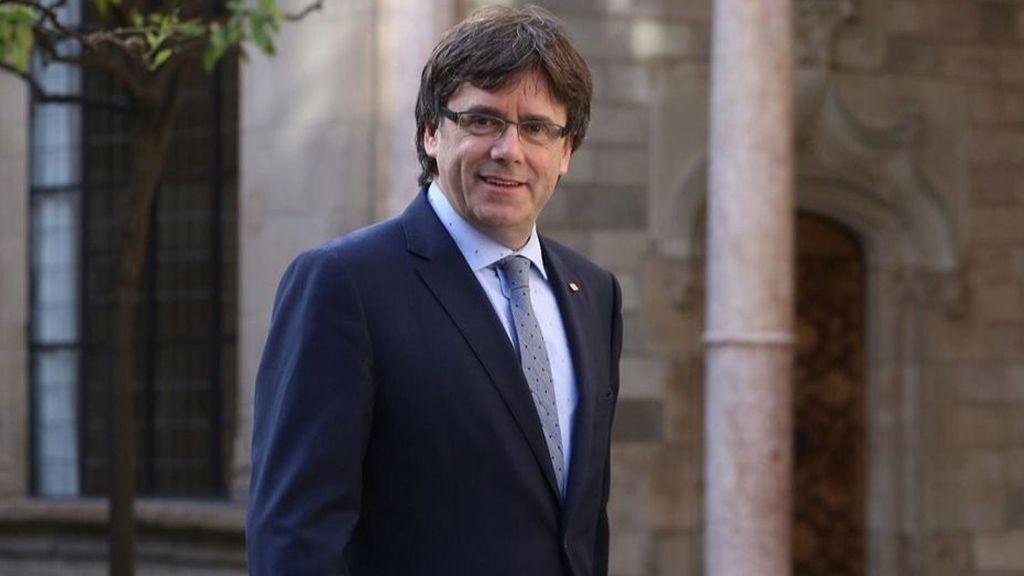 ¿Ha vuelto Carles Puigdemont a su despacho de la Generalitat?