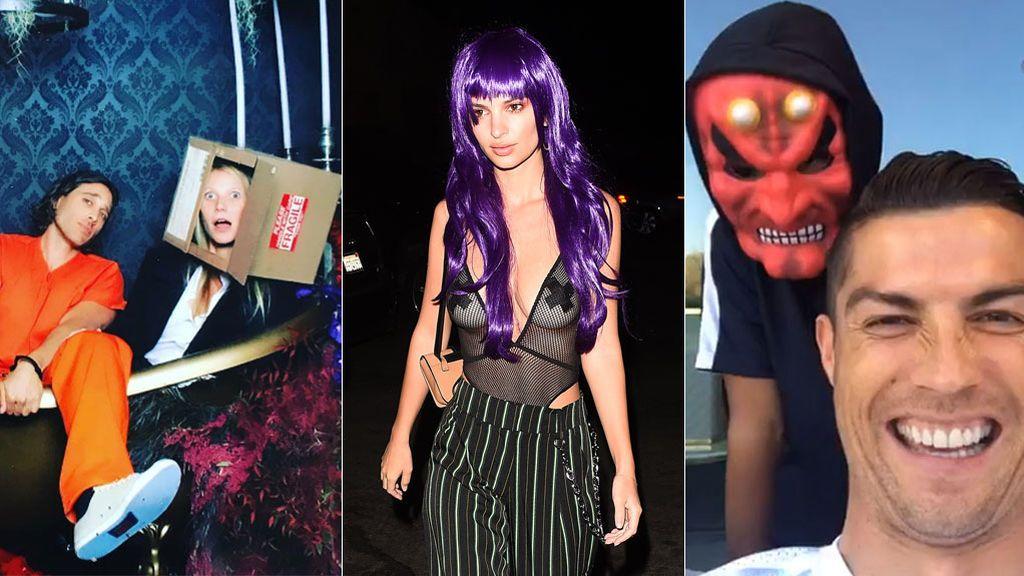 Estos son los disfraces más terroríficos y extravagante de los famosos que 'reinan' en Hallowen