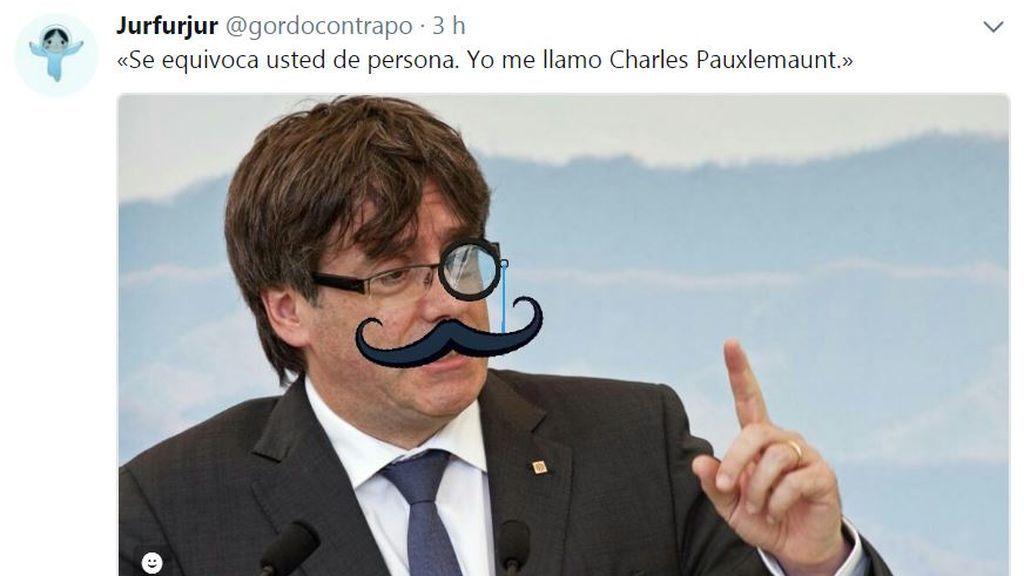 Hoy #EnLaRed: bromas y memes  sobre Puigdemont y su viaje a Bruselas
