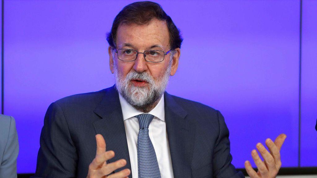 """Rajoy cree que el 155 se está aplicando de forma eficaz y que """"gana la democracia"""""""