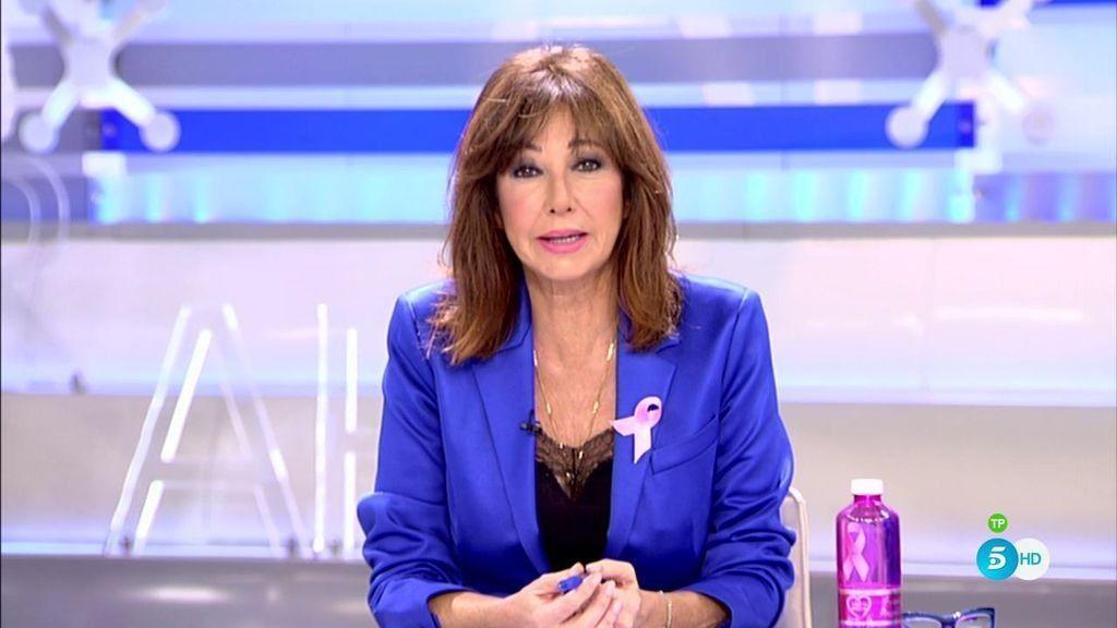 'El programa de Ana Rosa' se suma a la lucha contra el cáncer de mama