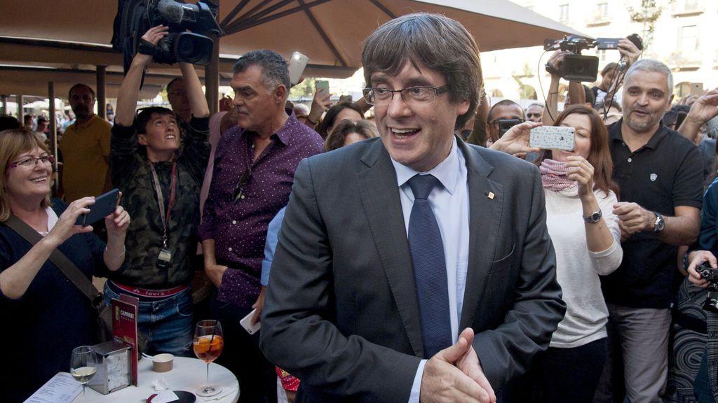 Interior recuerda que Puigdemont tiene libertad de movimientos