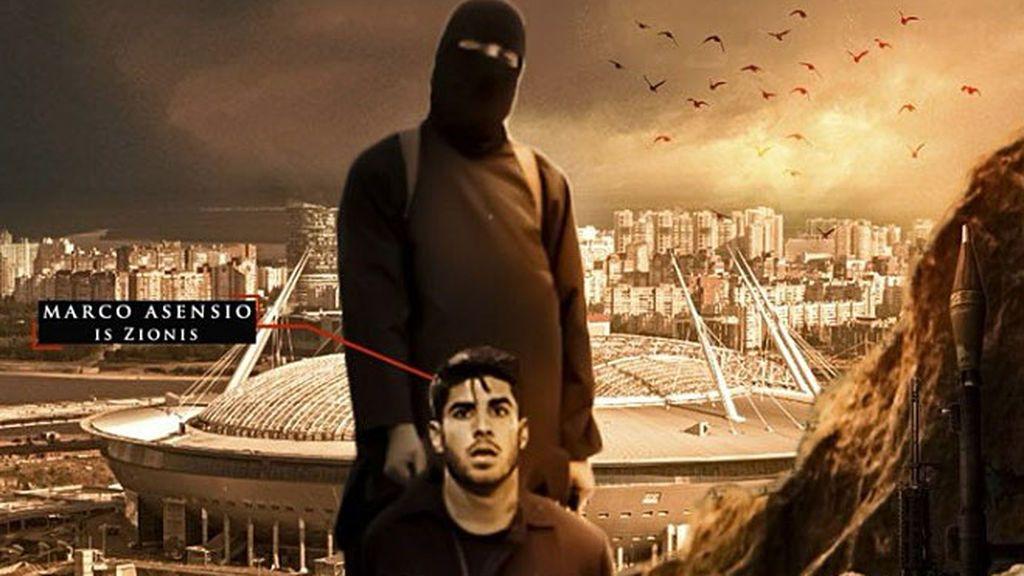 ¡Y ahora Marco Asensio! El ISIS sigue amenazando a las estrellas del Mundial de Rusia