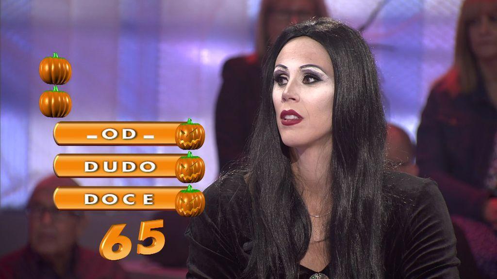 El plató de 'Pasapalabra' se viste de Halloween