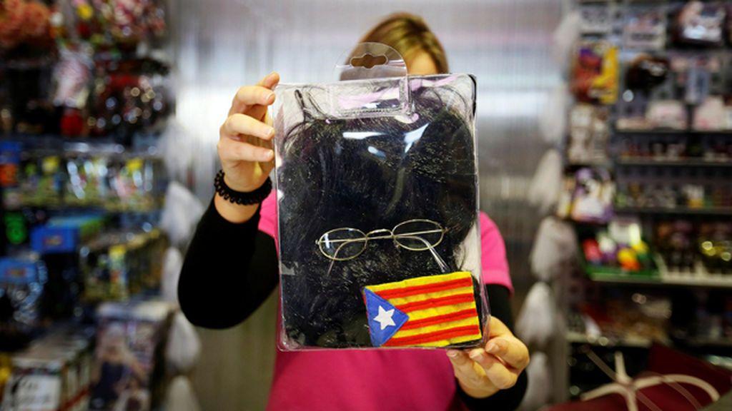 Carles Puigdemont para Halloween