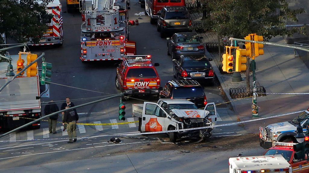 Ocho muertos tras un atropello intencionado en el centro de Nueva York