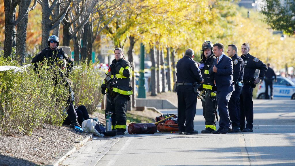 """Atentado en Nueva York: Un """"lobo solitario"""" mata a ocho personas"""