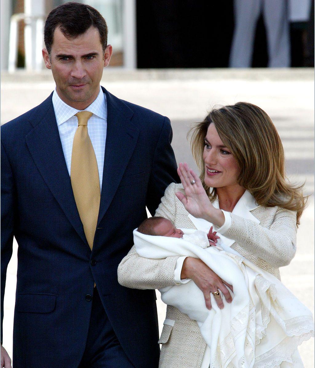 La madrugada del 31 de octubre de 2005 nació Leonor, la primogénita de los Príncipes de Asturias