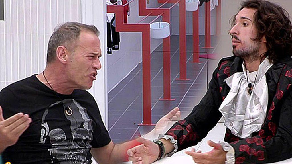 La enésima bronca entre Carlos Lozano y Christian G. pone patas arriba la casa de Guadalix