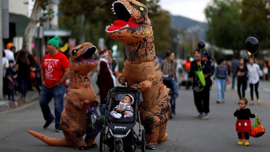 California salió a la calle a celebrar Halloween