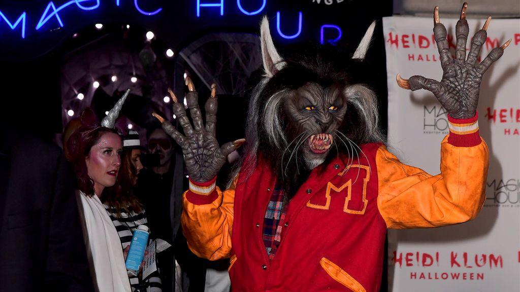 El 'Thriller' de Heidi Klum y los mejores disfraces de Halloween
