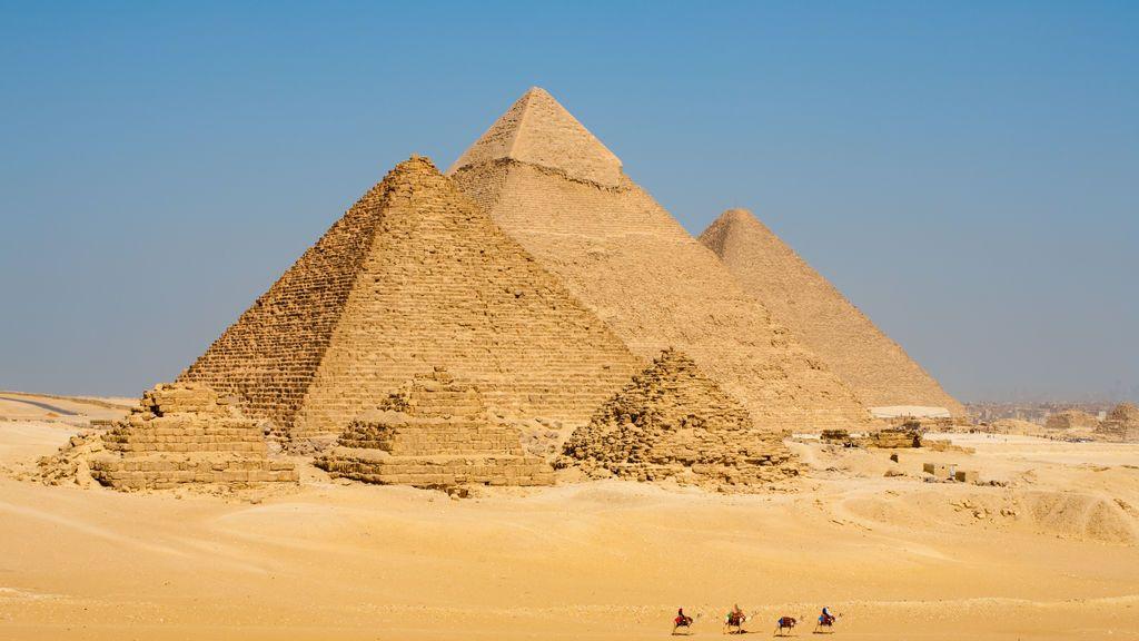 Descubre una estructura oculta en la Pirámide de Keops