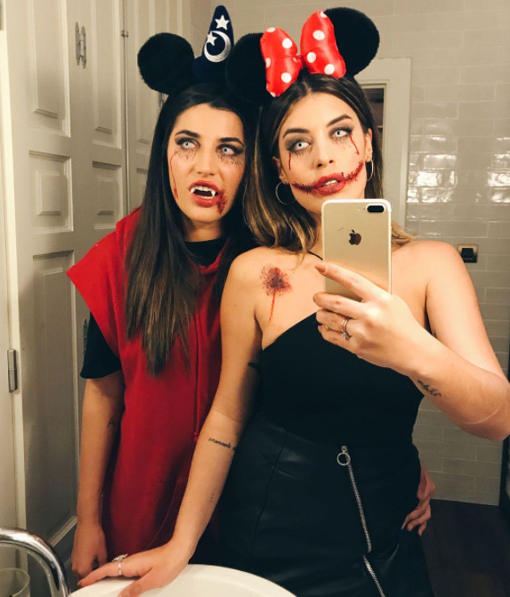 Dulceida y Alba Mouse, la versión 'Halloween' de Mickey y Minnie