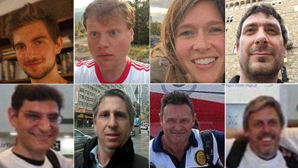 Quiénes eran las ocho víctimas del atentado de Nueva York