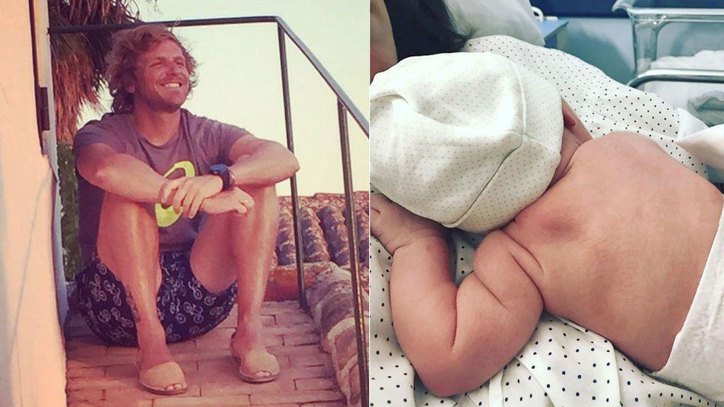 """Álvaro de la Lama nos presenta a su primer bebé: """"Hola me llamo Isabel"""""""