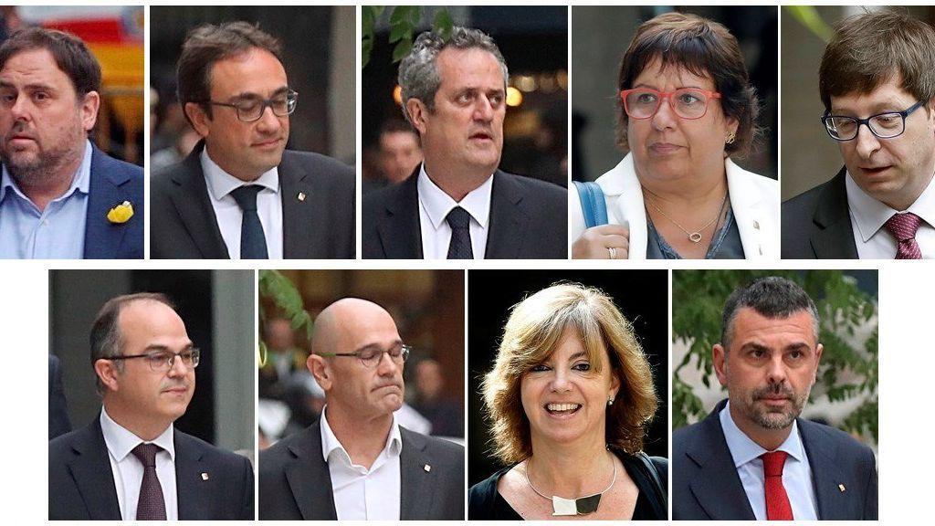La juez envía a prisión a Junqueras y a otros siete exconsellers de la Generalitat