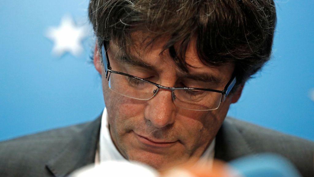 La Fiscalía pide la detención de Puigdemont y los exconsellers en Bruselas