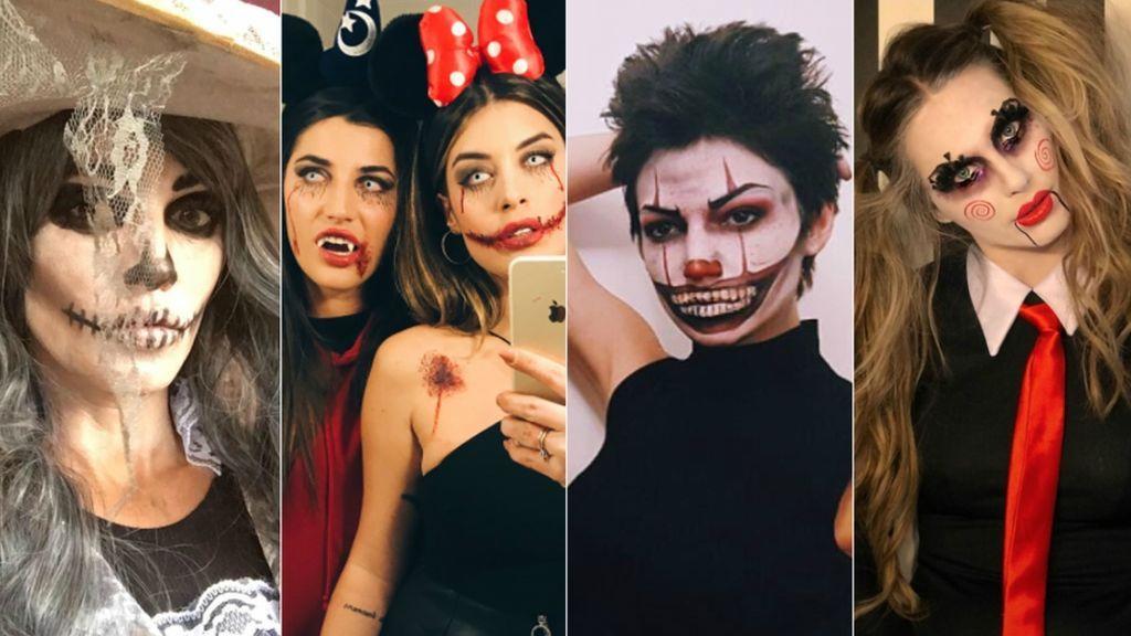 PauEche, Vanessa Romero, Úrsula Corberó, Dulceida... Los disfraces más terroríficos de las 'vips' ibéricas