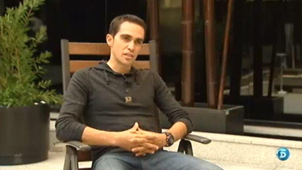 Alberto Contador y José Luis Cuerda, dos ejemplos de superación tras un ictus
