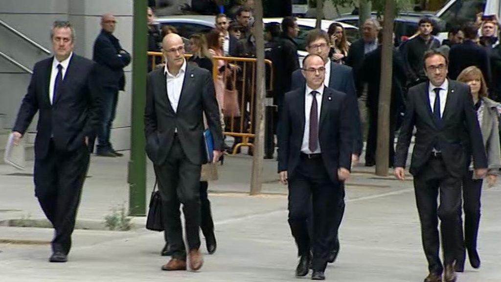 El exgovern catalán ante la Audiencia Nacional