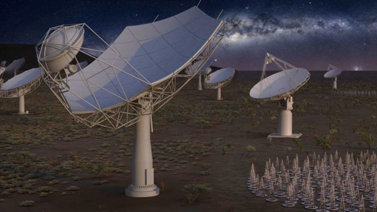 El radiotelescopio SKA abrirá nuevas posibilidades al estudio del universo