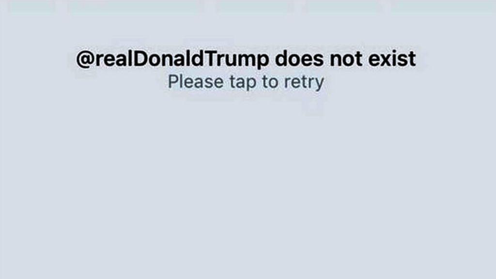 Un empleado de Twitter desactiva la cuenta de Trump en su último día de trabajo