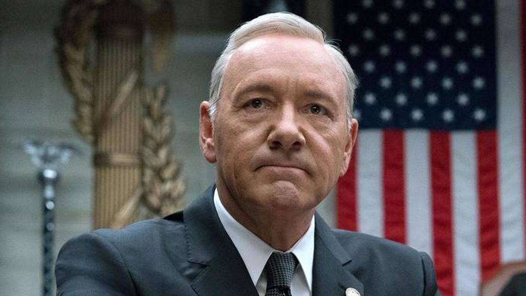 Kevin Spacey es Frank Underwood en 'House of cards'