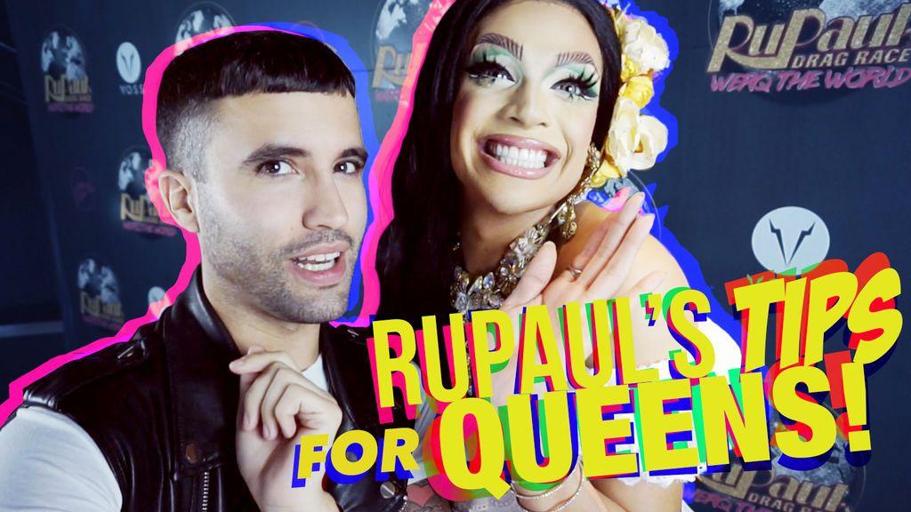 ¿Quieres convertite en una gran drag? Valentina le cuenta cómo a Rubén Errebeene